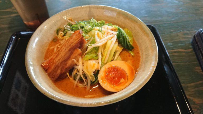 辛味噌野菜そば(並)