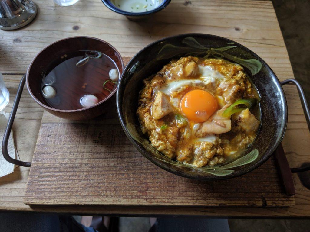 京のふわとろカレー親子丼セット(1,100円