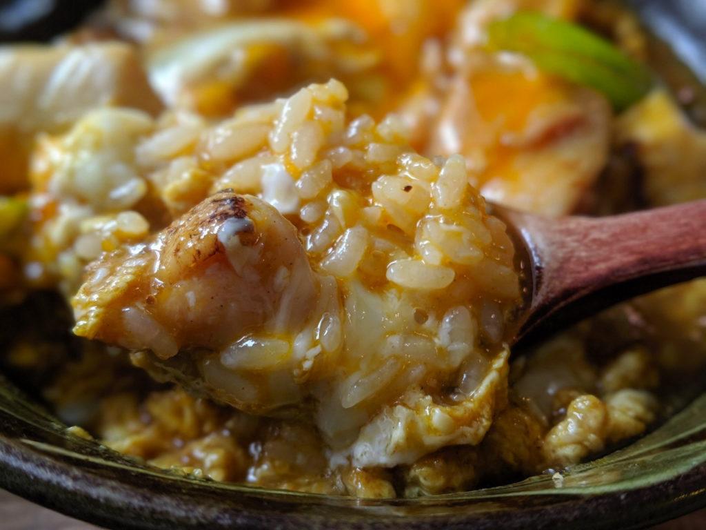 京のふわとろカレー親子丼