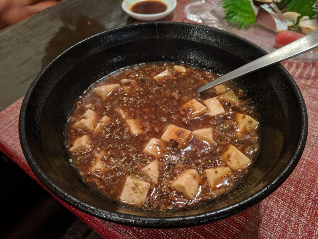 麻婆豆腐(800円)