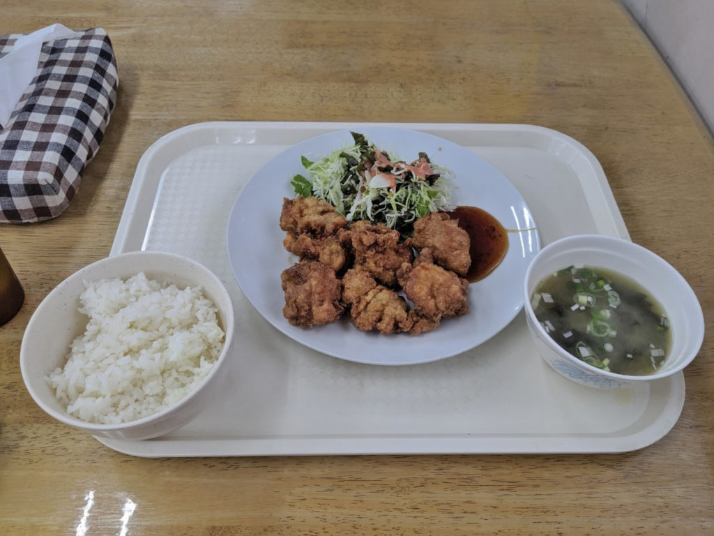 鶏の唐揚げ(600円)