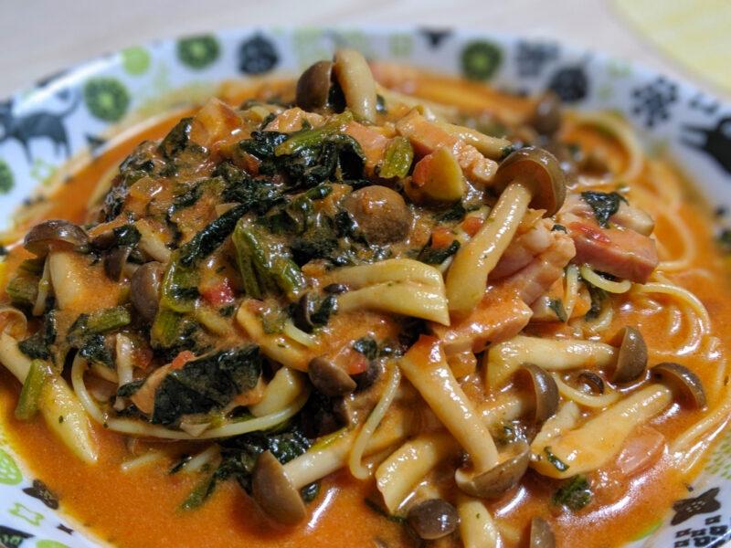 パスタ トマト スープ