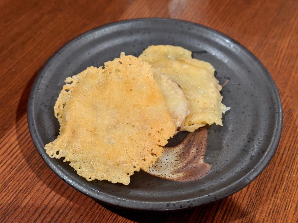 長芋カリカリチーズ焼