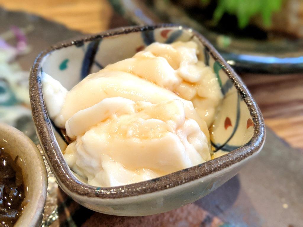 豆乳ジーマーミ豆腐