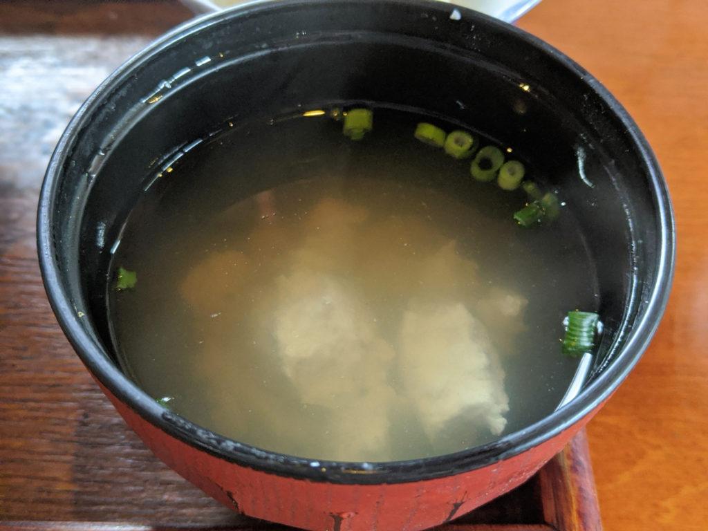 ゆし豆腐のおつゆ