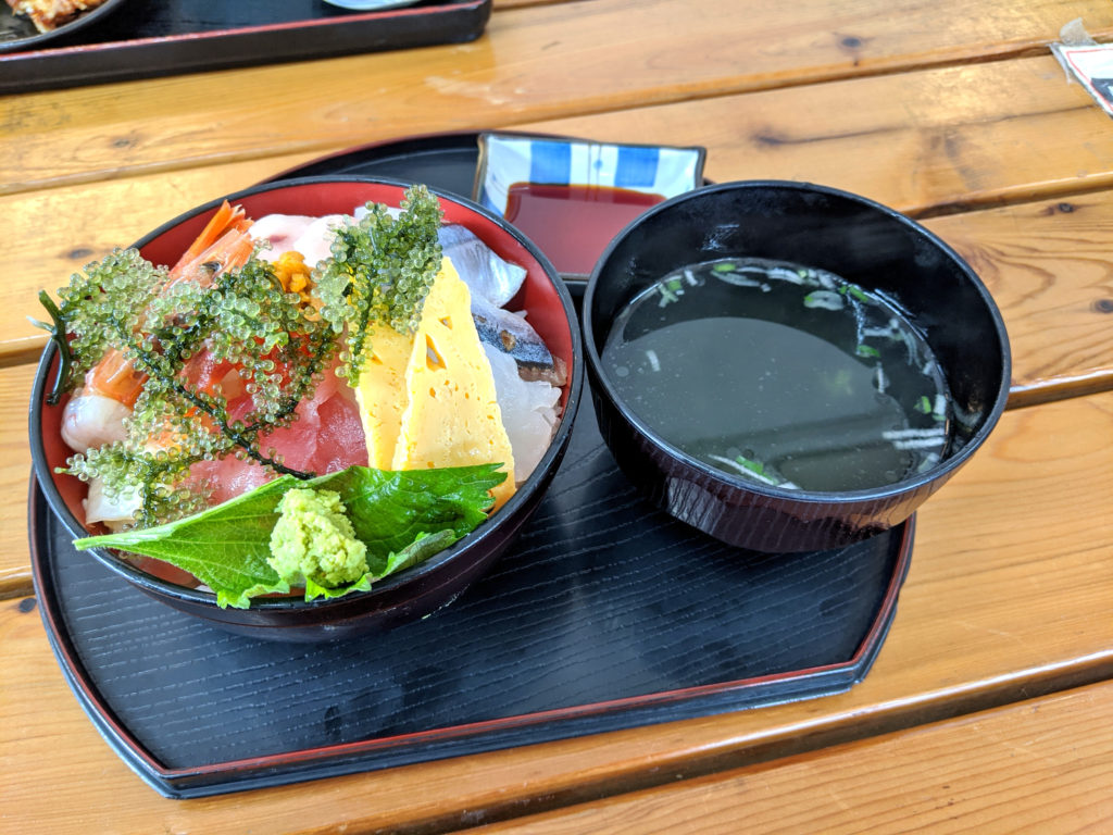 海鮮ティーダ丼