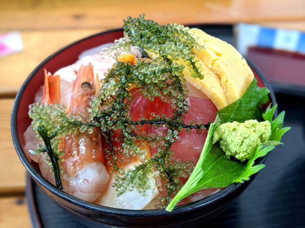 海鮮ティーダ丼アップ