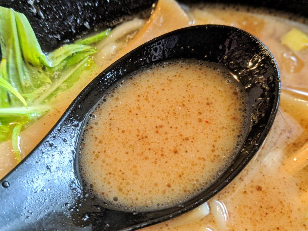 かつお粉スープ