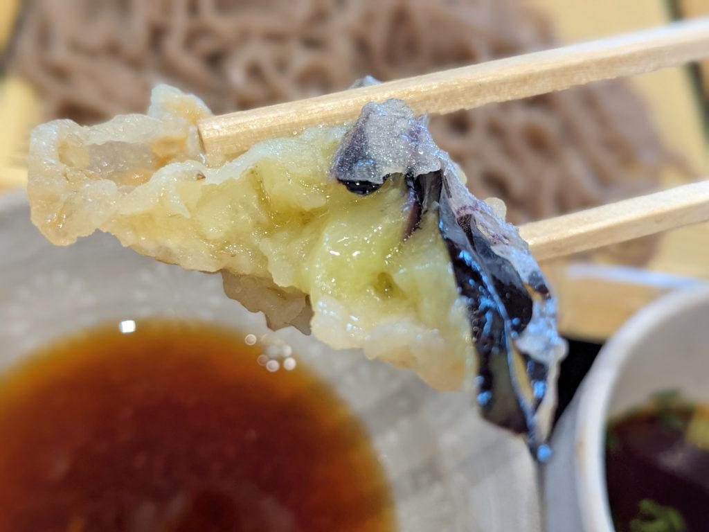 茄子の天ぷら