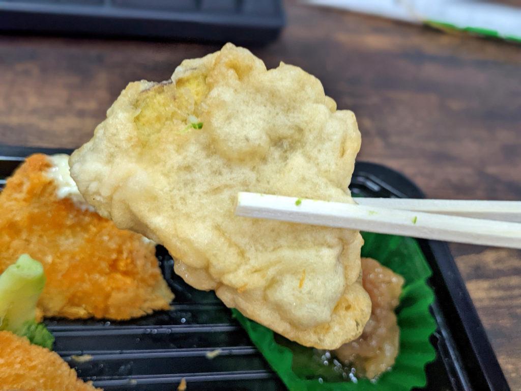 焼き芋の天ぷら