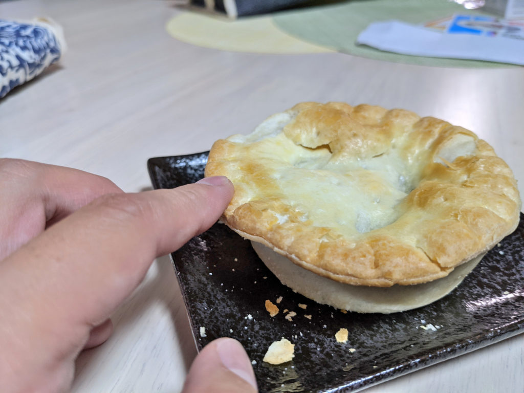 アップルパイの柔らかさ