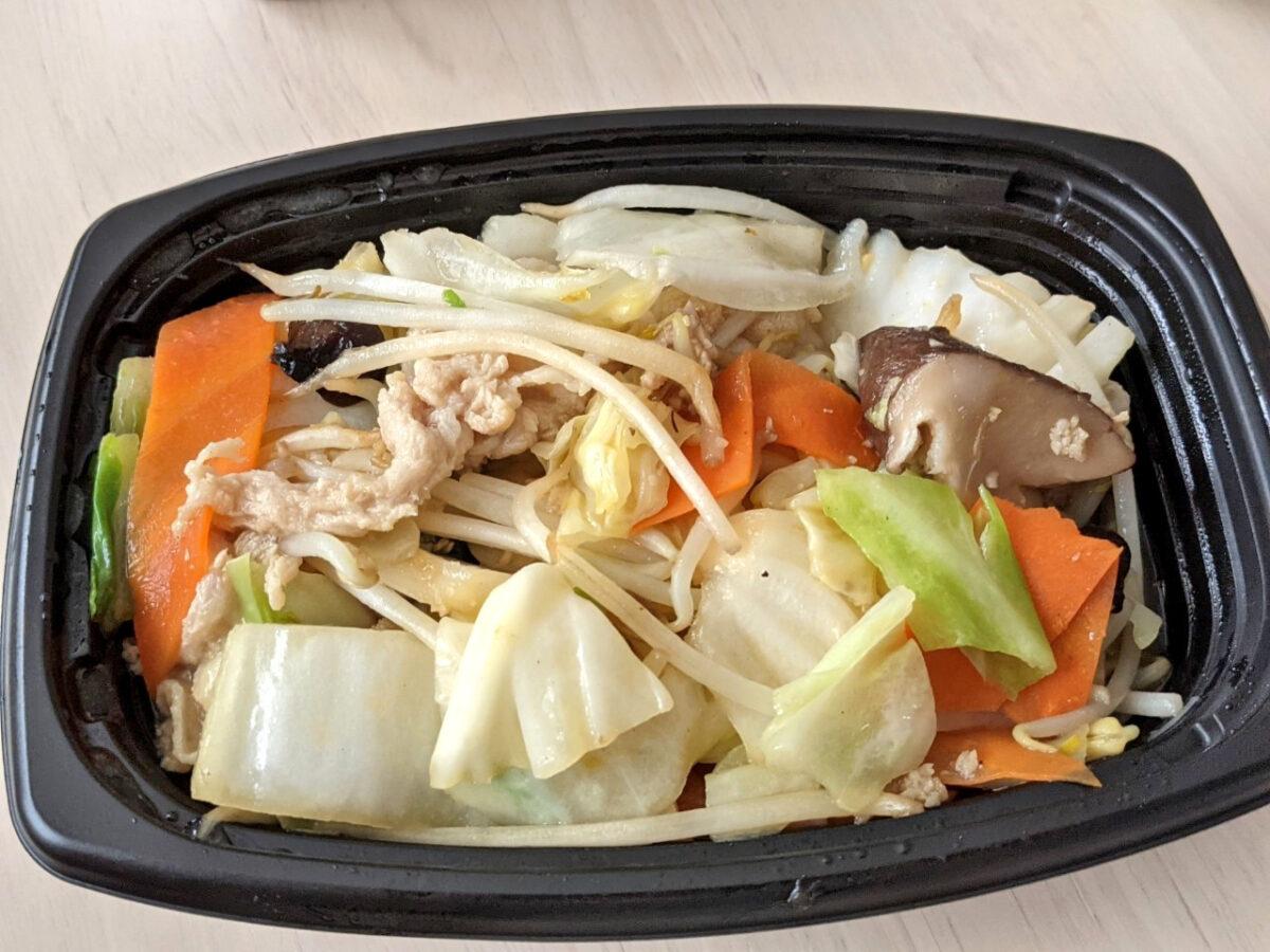 肉と野菜炒め
