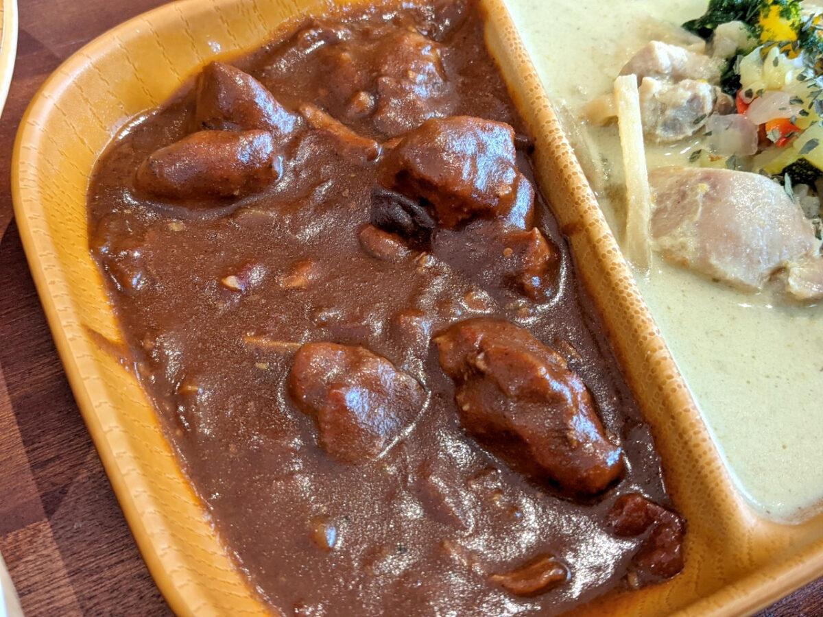 玉ねぎと鶏肉のカレー