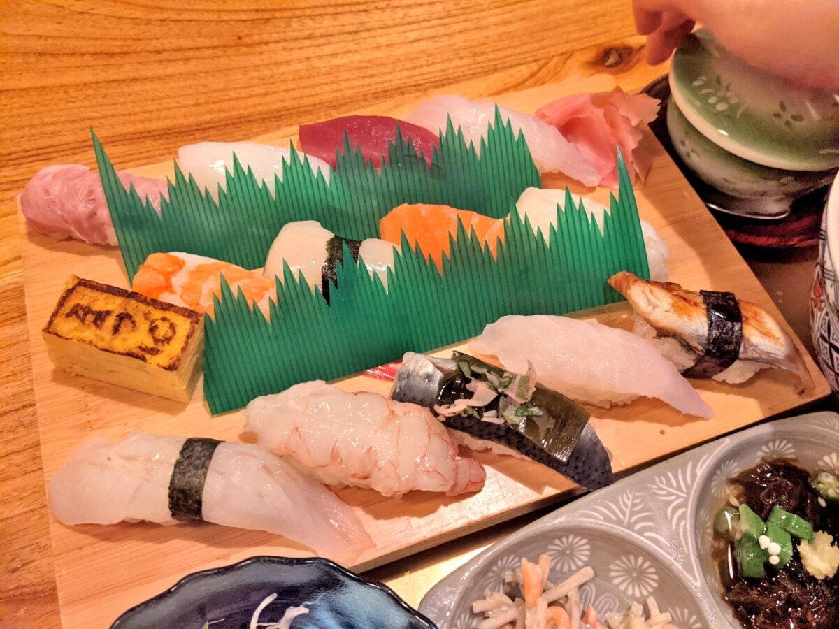 上にぎり 寿司